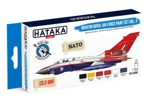 HTK-BS85 Modern Royal Air Force paint set vol. 4