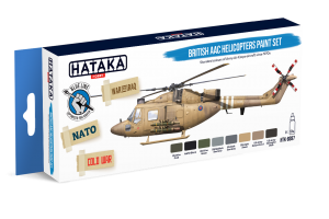 HTK-BS87 British AAC Helicopters paint set