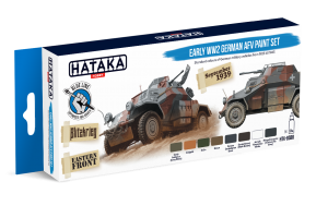 HTK-BS88 Early WW2 German AFV paint set