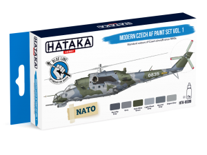 HTK-BS89 Modern Czech AF paint set vol. 1