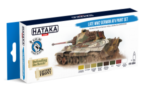 HTK-BS94 Late WW2 German AFV paint set