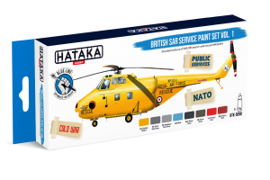 HTK-BS98 British SAR Service paint set vol. 1