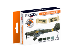 HTK-CS02 Early Luftwaffe paint set