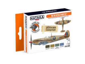 HTK-CS08 RAF in Africa paint set
