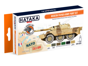 HTK-CS25 Modern French Army paint set