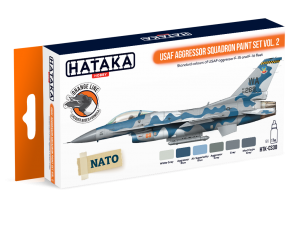 HTK-CS30 USAF Aggressor Squadron paint set vol. 2