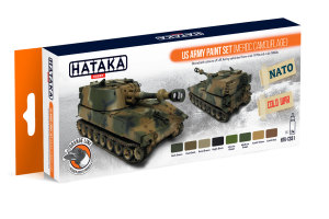HTK-CS51 US Army paint set (MERDC camouflage)
