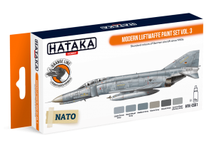HTK-CS61 Modern Luftwaffe paint set vol. 3