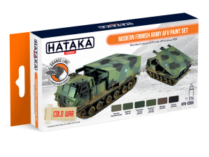 HTK-CS65 Modern Finnish Army AFV paint set