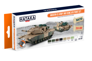 HTK-CS67 Modern US Army And USMC AFV Paint Set