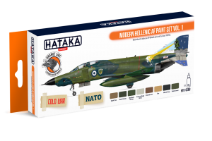 HTK-CS68 Modern Hellenic AF paint set vol. 1