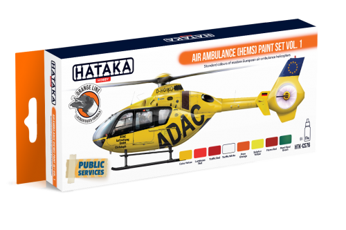 HTK-CS76 Air Ambulance (HEMS) paint set vol. 1