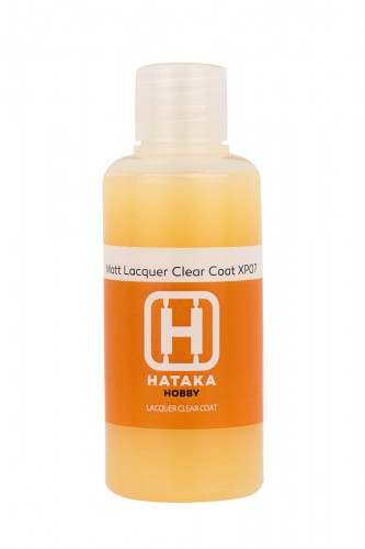 HTK-XP07 Matt Lacquer Clear Coat 60 ml