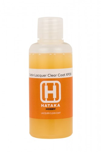 HTK-XP08 Satin Lacquer Clear Coat 60 ml