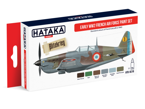 HTK-AS16 Early WW2 French Air Force paint set